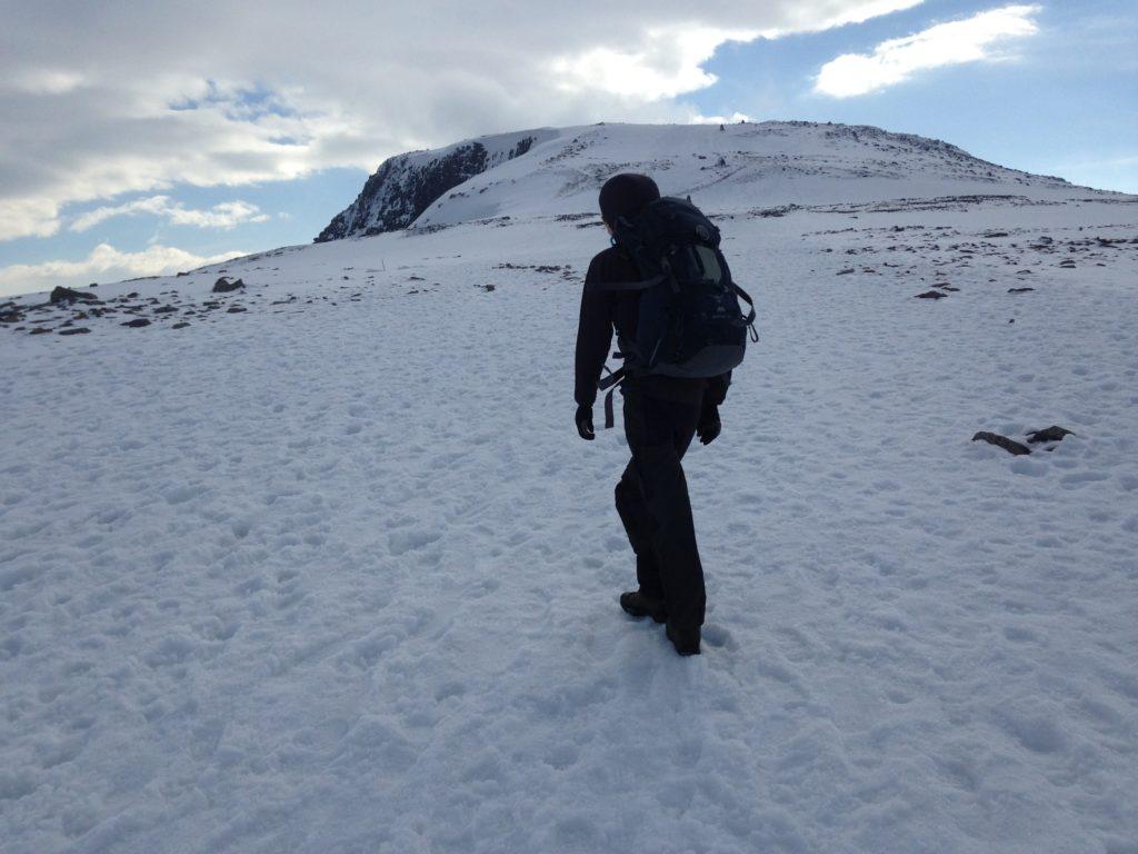 Ben Nevis Snow Hike